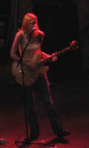 Aimee Mann in concert at the zoo