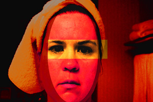 fire self portrait of evoljen