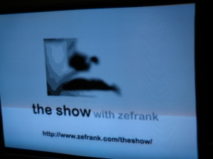 ZeFrank on AppleTV